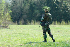 soldaten kriger Arkivfoton