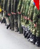 soldater royaltyfri bild