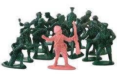 soldater royaltyfria bilder