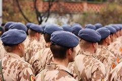 soldater Fotografering för Bildbyråer