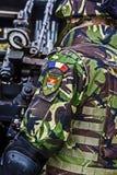 Soldater och vapen 11 arkivfoton