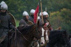 Soldater som är klara för strid Royaltyfria Foton