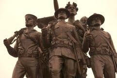 Soldater WW1 Arkivfoto