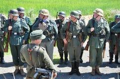 Soldati Fotografie Stock