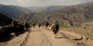 Soldati cechi nella provincia di Logar, Afghanistan Fotografia Stock Libera da Diritti
