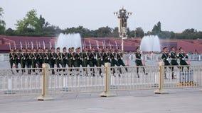 Soldati cinesi immagine stock