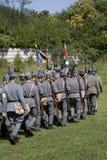 Soldati da dietro la I Fotografia Stock