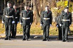 Soldati dei canadesi Immagine Stock Libera da Diritti