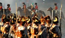 Soldati del cavallo fotografie stock