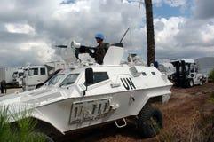 Soldati del turco dell'ONU immagine stock libera da diritti