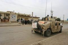 Soldati dell'esercito degli S.U.A. nell'Iraq fotografia stock