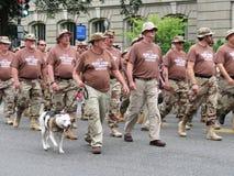 Soldati della tempesta di deserto Fotografie Stock Libere da Diritti