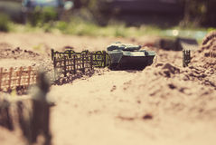 Soldati di giocattolo fotografia stock libera da diritti