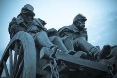 Soldati di guerra civile Fotografia Stock