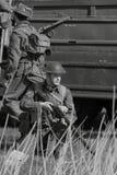 Soldati di seconda guerra mondiale Fotografia Stock Libera da Diritti