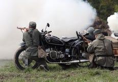 Soldati di Wehrmacht Fotografia Stock Libera da Diritti
