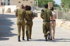 Soldati israeliani Fotografia Stock