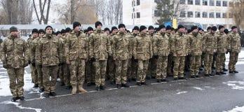 Soldati restituiti Fotografie Stock