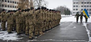 Soldati restituiti Immagini Stock