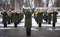 Soldati restituiti Immagine Stock