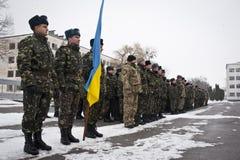 Soldati restituiti Immagine Stock Libera da Diritti