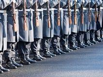 Soldati tedeschi del reggimento della guardia Immagine Stock Libera da Diritti