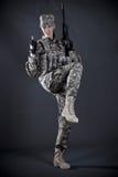 soldatkvinna Royaltyfria Bilder