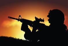 Soldato Fotografia Stock