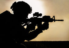Soldato Fotografia Stock Libera da Diritti