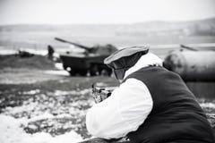 Soldato afgano fotografie stock