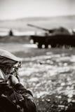 Soldato afgano fotografia stock libera da diritti