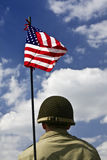 Soldato americano Fotografie Stock Libere da Diritti