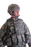 Soldato americano di combattimento Fotografia Stock