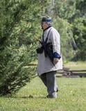 Soldato confederato fotografia stock libera da diritti