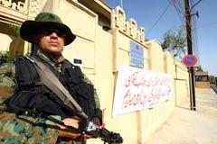 Soldato curdo Immagini Stock