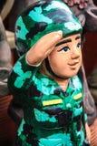 Soldato d'annata del cavo Immagini Stock