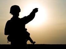 Soldato degli Stati Uniti Fotografia Stock