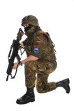 Soldato del Bundeswehr. Immagini Stock