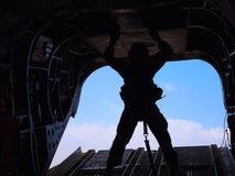 Soldato del cielo Fotografie Stock