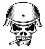 Soldato del cranio Fotografia Stock Libera da Diritti