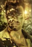 Soldato del primo piano Fotografie Stock