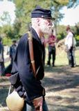 Soldato del sindacato di guerra civile Fotografie Stock