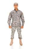 Soldato dell'ESERCITO AMERICANO Fotografie Stock Libere da Diritti