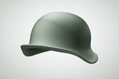 soldato dell'esercito del casco 3D Fotografie Stock Libere da Diritti