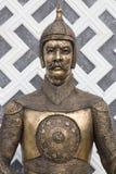 Soldato dell'ottomano armatura bronzea storica Fotografia Stock
