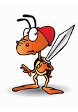 Soldato della formica Fotografia Stock Libera da Diritti