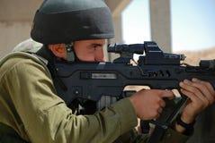 Soldato della fucilazione Immagini Stock Libere da Diritti