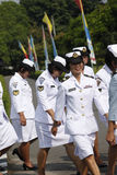 Soldato delle donne Fotografie Stock