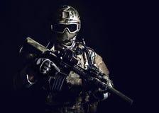 Soldato delle forze speciali Immagini Stock Libere da Diritti