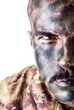 Soldato di Camo immagini stock libere da diritti